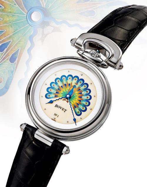 播威手表维修服务中心的手表展示